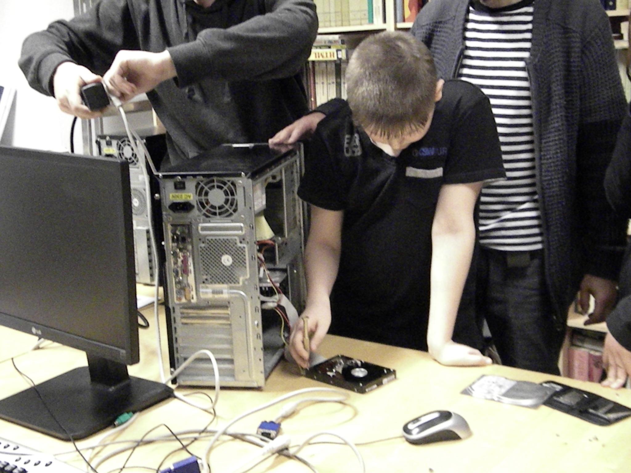 PC-Werkstatt mit Pavel Radomychelski